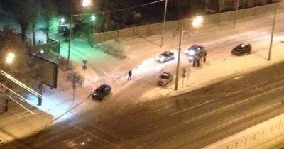 В Санкт-Петербурге неизвестные открыли огонь по сотрудникам ГИБДД