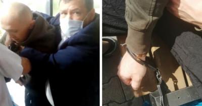 ВЕкатеринбурге охрана ТРЦ «ФанФан» напала напосетителей, заходивших без масок (ВИДЕО)