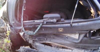 Под Нижним Тагилом столкнулись четыре автомобиля (ВИДЕО)