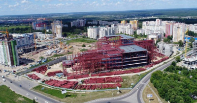 Продукцию ЕВРАЗ НТМК используют в строительстве одного из крупнейших ТЦ России