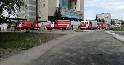При пожаре в здании «Тагилбанка» пострадал мужчина
