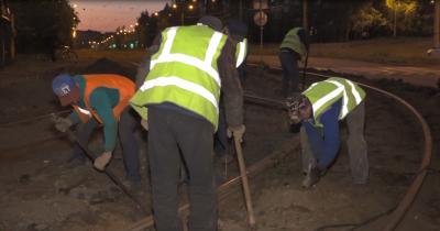 На Тагилстрое и Вагонке меняют трамвайные рельсы