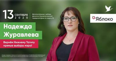 «Яблоко» определилось с кандидатом в Госдуму и ЗакСО от Нижнего Тагила