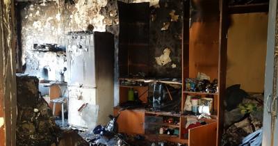 В Нижнем Тагиле на Вагонке при пожаре в многоквартирном доме спасли двоих детей