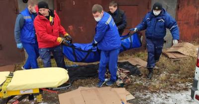 В Нижнем Тагиле спасатели вызволили из гаража упавшего через крышу мужчину