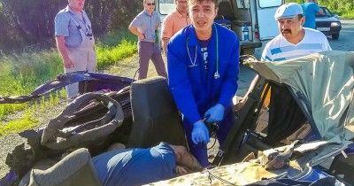 Под Челябинском фельдшер скорой помощи водиночку спасал пострадавших в ДТП