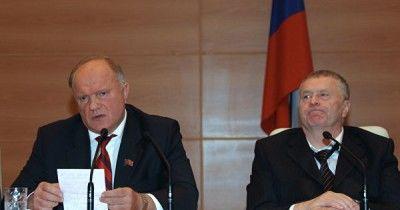 Зюганов и Жириновский попросили Путина возобновить встречи с ними