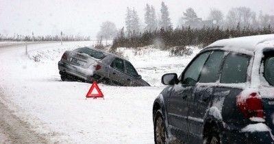 Из-за обильного снегопада в Нижнем Тагиле до обеда произошло 20 ДТП