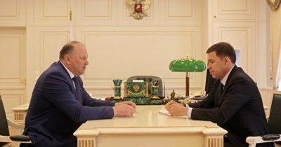 Полпред Цуканов встретился сгубернатором Куйвашевым после трёх дней протестов вЕкатеринбурге