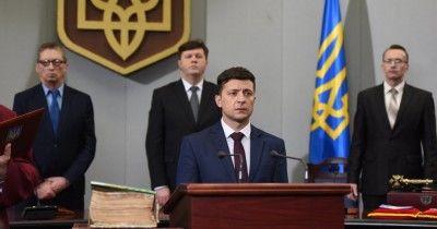 Зеленский вступил в должность президента Украины (ВИДЕО)