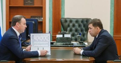Губернатор Евгений Куйвашев и глава Нижнего Тагила Владислав Пинаев обсудили подготовку к 300-летию города