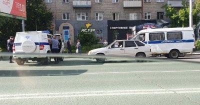В центре Новосибирска расстреляли мужчину