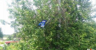 В Екатеринбурге погибла пассажирка мотоцикла, влетевшего на большой скорости в бордюр (ФОТО,ВИДЕО)