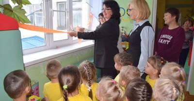 В Коми состоялось торжественное открытие новых окон в детском саду