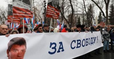 Власти Санкт-Петербурга отказали оппозиции вмарше памяти Немцова из-за незнания аббревиатуры «РФ»