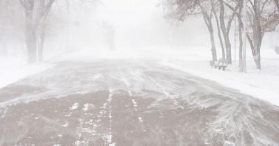 МЧС предупредило осильной метели вСвердловской области