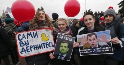 В Госдуме предложили лишать свободы за призыв несовершеннолетних к беспорядкам