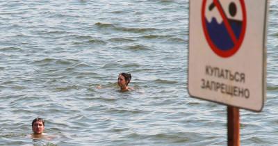 Роспотребнадзор запретил купаться в водоёмах Свердловской области