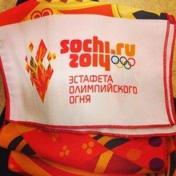 #эстафета Олимпийского огня в Инстаграме