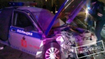 В Нижнем Тагиле массовая погоня полицейских за лихачём закончилась лобовым столкновением с машиной ГИБДД (ФОТО, ВИДЕО)