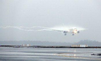 В международном аэропорту Кольцово из-за тумана не могут приземлиться 15 самолётов