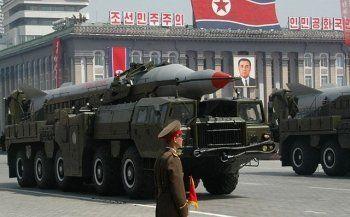 Северная Корея произвела пуск двух баллистических ракет средней дальности