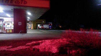 В Нижнем Тагиле на АЗС загорелся автомобиль