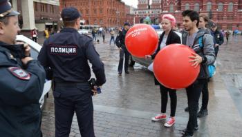 Полиция задержала более 130 сторонников Навального на «Большом субботнике»