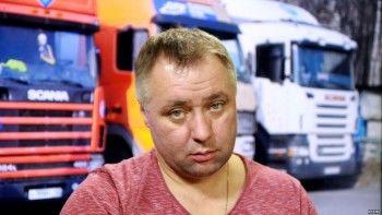 ВПетербурге лидера протестующих дальнобойщиков увезли внеизвестном направлении