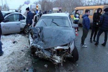 В ГИБДД рассказали подробности аварии на улице Балакинской в Нижнем Тагиле