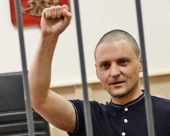 Лидер «Левого фронта» Сергей Удальцов освободился из колонии