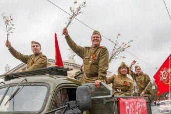 В России празднуют День Победы (ФОТО)