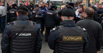 В Санкт-Петербурге задержанную на митинге журналистку арестовали на десять суток