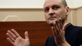 Сергею Удальцову дали пять суток ареста. Он объявил голодовку