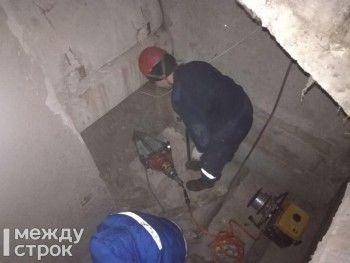 В Нижнем Тагиле на мужчину упала бетонная плита перекрытия в подъезде многоквартирного дома (ФОТО)