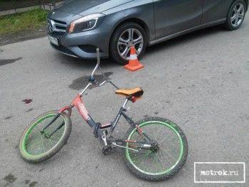 В Нижнем Тагиле в ДТП на пешеходном переходе пострадал 11-летний велосипедист