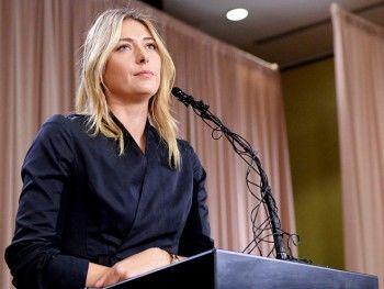 Теннисистка Мария Шарапова призналась в употреблении допинга