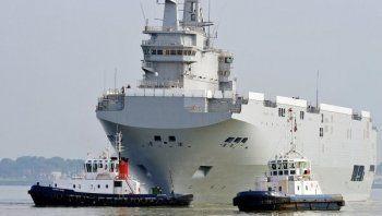 Франция перевела больше миллиарда евро за «Мистрали»