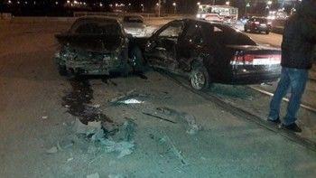 В Нижнем Тагиле на проспекте Ленина столкнулись ВАЗ и Nissan, есть пострадавшие