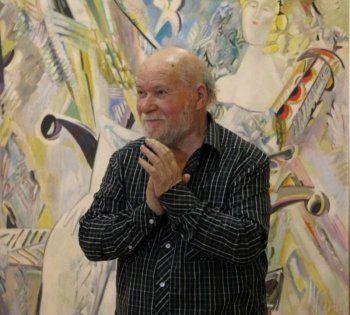 Вдова Миши Брусиловского привезла на выставку в Нижний Тагил уникальные картины художника