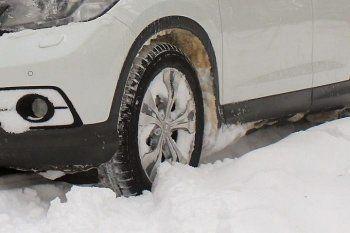 Автовладельцев будут штрафовать за отсутствие зимней резины