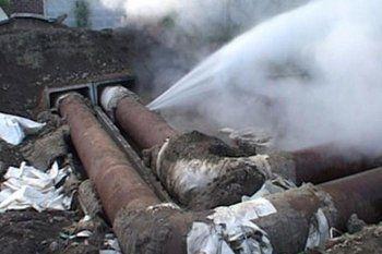 Из-за прорыва трубы в Нижнем Тагиле замерзают несколько многоквартирных домов