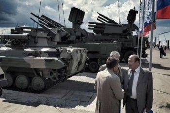 Россия вошла в тройку мировых лидеров по военным расходам