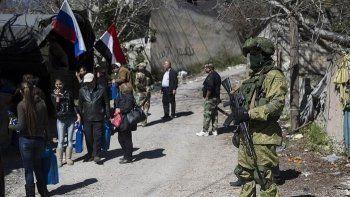 Российского военного судили за потерю автомата в Сирии