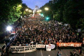 Двое россиян задержаны в Германии из-за участия в беспорядках на G20