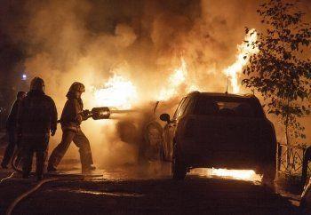 За сутки в Нижнем Тагиле сгорели три автомобиля