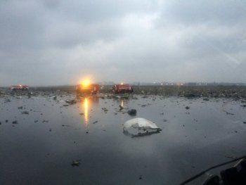 В Ростове-на-Дону разбился пассажирский самолёт. Погибли 62 человека