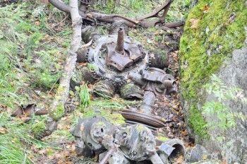 Под Нижним Тагилом нашли обломки бомбардировщика времён ВОВ
