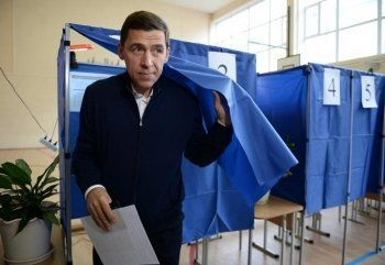 Путин встретится с победившим на выборах свердловского губернатора Евгением Куйвашевым