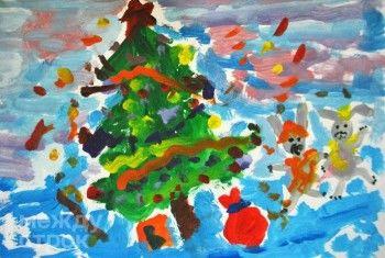 «Дед Мороз не видел лета – я ему нарисую!» Участники проекта «ЕВРАЗ-детям» представили в Нижнем Тагиле новогоднюю выставку